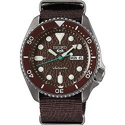Reloj Seiko para Hombre, Marrón, Sense, 5K1