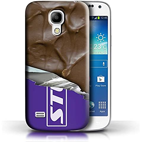 Caso SG4MINI/CHOC Pendeford, compatible con Samsung Galaxy  S4 Mini/Samsung Galaxy S4