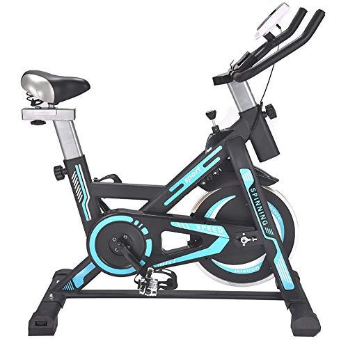 Sumferkyh - Sordina per Allenamento in Interni ed ellittico Cross Trainer con Fitness Cardio Perdita di Peso Macchina Calorie, Metallo, Blue, Taglia Libera