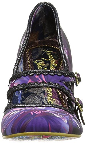 Irregular Choice Candy Whistle, Scarpe col tacco Donna Black (Black Multi)
