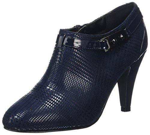 Lotus Women's Steepie Closed-Toe Heels, Blue (Navy Print), 6 UK 39 EU