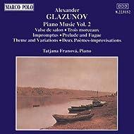 Glazunov: Piano Music, Vol. 2