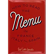How To Read The Menu