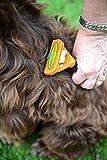 FURminator Fellpflege deShedding-Pflegewerkzeug (für langhaarige mittelgroße Hunde von 9 bis 23 kg, Größe M), 1 stück - 3