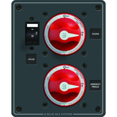 Blue Sea Systems 8080 Blue Sea Panel Dc Parallel Ip Blue Sea 8080 Panel