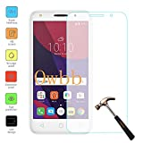 Owbb Protection écran en Verre Trempé pour Alcatel Pixi 4 (5.0Pouces) Smartphone Films de protection Transparents Ultra Clear -A Series