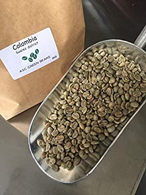 Colombia Suarez District Green Coffee Beans - Unroasted - Perfect for Home Roasting (1kg) from ASC green beans