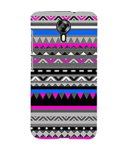 Fuson Designer Back Case Cover for Micromax Canvas Xpress 2 E313 ( Ethnic Pattern Patterns Floral Decorative Abstact Love Lovely Beauty )