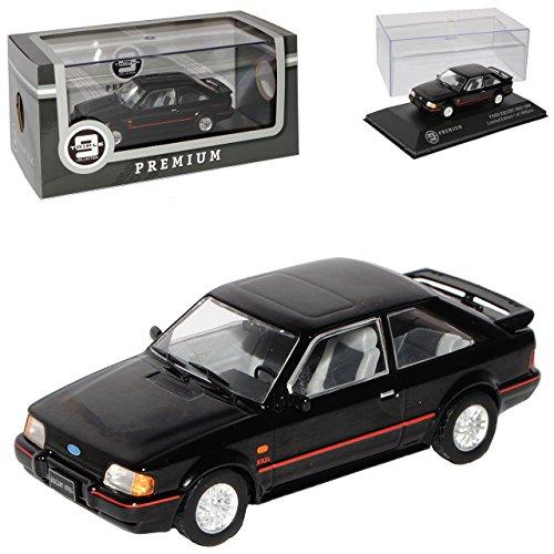 Ford Escort MKIV XR3i Schwarz 3 Türer 4. Generation 1986-1990 limitiert 1 von 1008 Triple 9 1/43 Ixo Modell Auto (1986 Ford Escort)