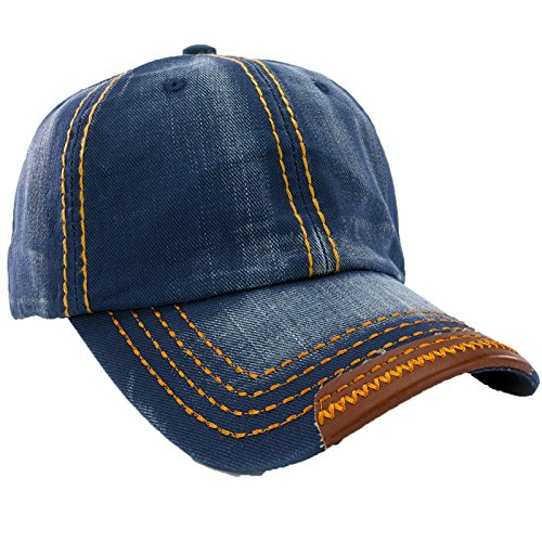 Unisex Baumwolle Baseball Cap Star Sport Mütze Baseballkappe Snap back Trucker MFAZ Morefaz Ltd (Jeans - Dc-mütze