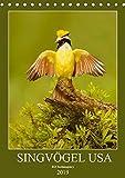 Singvögel USA (Tischkalender 2019 DIN A5 hoch): Monatskalender, Hochformat, 12 Singvogelarten aus den USA (Monatskalender, 14 Seiten ) (CALVENDO Tiere)