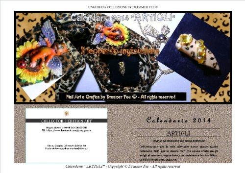 "Calendario 2014 Nail Art ""Artigli"" by Dreamer Fee (Italian Edition)"