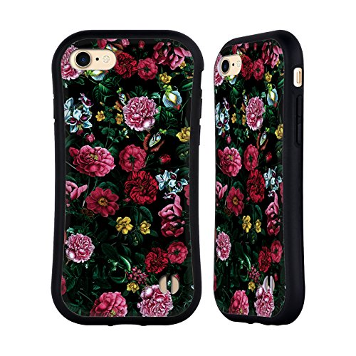 Ufficiale Riza Peker Botanico 2 Fiori 4 Case Ibrida per Apple iPhone 7 / iPhone 8 Botanico 3