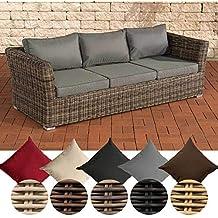 3sitzer Rattan Lounge Sofa Suchergebnis Auf Amazonde Für
