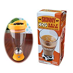 MEHAKENT Self Stirring Mug The Skinny Moo Mixer Battery Chocolate Milk Mixer Cup Automatic Cow Mug Shaker Blender