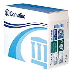 Convatec 0514383 Esteem Synergy Stoma System geschlossener Beutel, 40 mm, groß, Opak beige (30-er Pack)