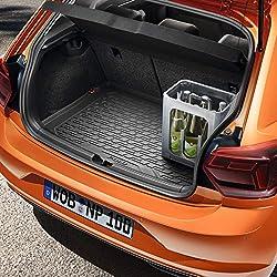 Volkswagen Polo VII (MQB) Kofferraumwanne - Kofferraummatte - Gepäckraumeinlage für Fahrzeuge mit variablem Ladeboden (obere Position)