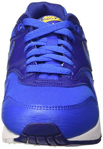 Nike Air Max 1 Gs Scarpe Sportive, Unisex Bambino Multicolore (Hypr Cblt/Hypr Cblt-Dp Ryl Bl)