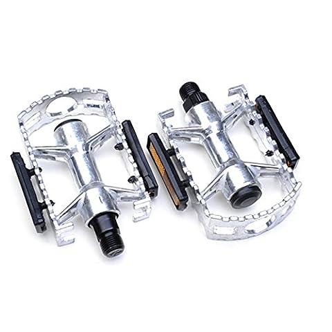 en alliage d'aluminium antidérapante durable Vélo Pédales (1paire) pour VTT, BMX, ville et trekking (la plupart des adultes vélos de montagne Route et hybride vélos), 118mm*80mm*25mm