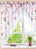 HOME WOHNIDEEN Unisex Kleinfenstergardine 'Rosemarie' by