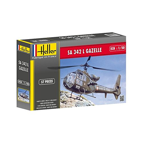 Heller 80486 - Modellbausatz SA 342 Gazelle