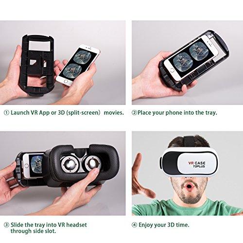 Gaming Video 3d Brille Vr Box Für Smartphone Handy Android Ios Virtual Reality Modische Und Attraktive Pakete Tv, Video & Audio