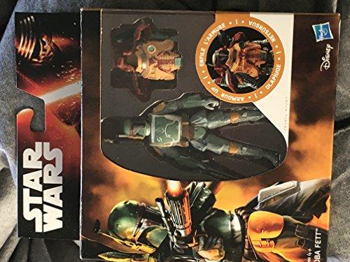 STAR WARS El Imperio Contraataca Boba Fett Armadura Levantado 3.75' Figura De Acción Disney Hasbro