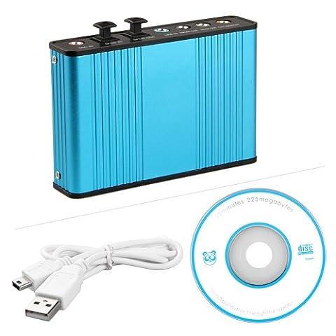 6 Canaux Carte Son Externe USB Numérique Optique Audio SPDIF