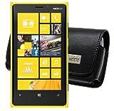 MTT Quertasche für das Nokia Lumia 625 mit Gürtelschlaufe schwarz