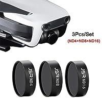 Camera Lens Filter Set for DJI Mavic Air Drone,Y56 Outdoor For DJI Mavic Air Drone ND4 ND8 ND16 Waterproof Camera Lens Filters by 5656YAO