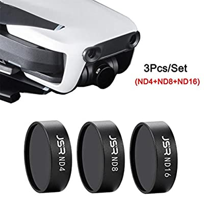Camera Lens Filter Set for DJI Mavic Air Drone,Y56 Outdoor For DJI Mavic Air Drone ND4 ND8 ND16 Waterproof Camera Lens Filters