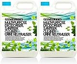 10L of Multi-Purpose Deodoriser, Sanitiser, Cleaner & Urine Neutraliser - Super Concentrated, Professional Formula - British Manufactured & British Certified EN 13697