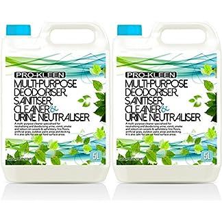 10L of Multi-Purpose Deodoriser, Sanitiser, Cleaner & Urine Neutraliser - Super Concentrated, Professional Formula… 18