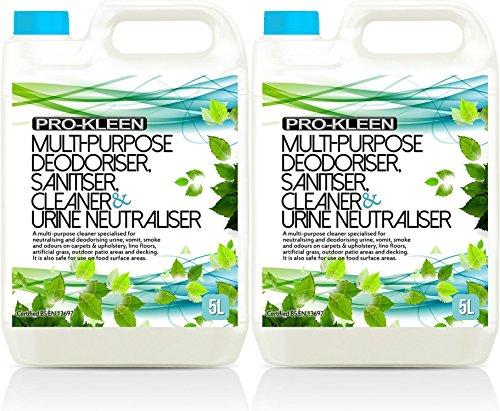 10L of Multi-Purpose Deodoriser, Sanitiser, Cleaner & Urine Neutraliser - Super Concentrated, Professional Formula… 1