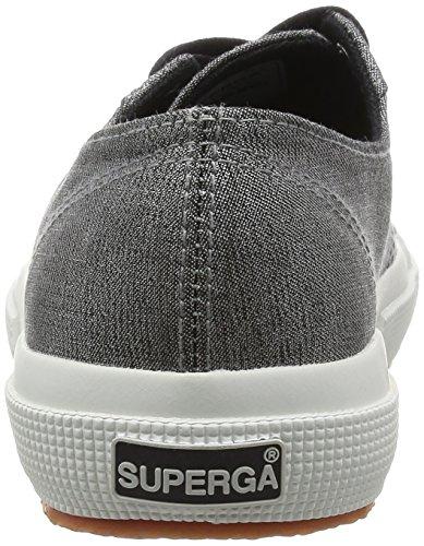 Superga 2750-Jeanslurexw, Scarpe da Ginnastica Donna Nero (Black-Silver)