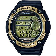 Casio Reloj Digital para Hombre de Cuarzo con Correa en Resina AE-3000W-9AVEF
