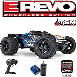 Traxxas E-REVO - 4x4-1/10 BRUSHLESS - WITHOUT BATTERIES - 86086-4