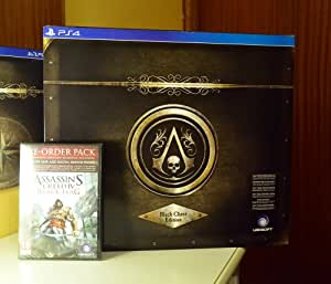 assassin's creed 4 black flag edition black chest ps4