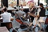 Quinny 72602640 – Senzz, Praktisches Travelsystem inklusive Einkaufskorb, Sonnenverdeck, Regenverdeck und Adapter für die Babyschale, Flame - 8
