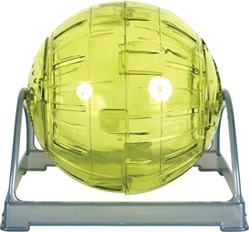 Laufball, 2-in-1, 12cm Durchmesser, Anisgrün