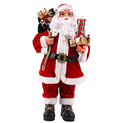 Weihnachtsmann Viggo 60 cm Höhe Dekofigur zu Weihnachten handgefertigt