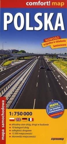 Polska : 1/750 000 par