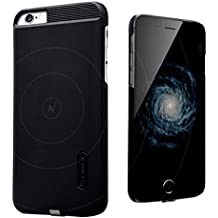 "Qi Carcasa Cover Case para 5,5"" iPhone 6 Plus / 6S Plus - ElecGear Magnetic Funda Case Qi Estándar Móvil Celular Car Inalámbrico protectora bumper Receptor de Cargador"