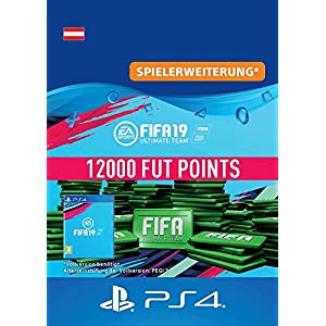 FIFA 19 Ultimate Team – 12000 FIFA Points | PS4 Download Code – österreichisches Konto