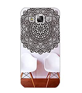 SAMSUNG GALAXY E5 CHAIRS Back Cover by PRINTSWAG