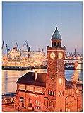 Hamburg - Maritim - Norddeutsch - Teppich - Wohnzimmerteppich -