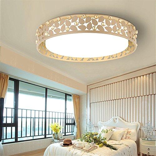 DengWu Deckenleuchten Acryl Decke lampe Wohnzimmer Beleuchtung moderne runde Schlafzimmer lampe led lampe, Durchmesser 480 mm * Höhe 80 mm - Durchmesser Decken-beleuchtung