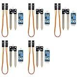 5Pcs Boden-Hygrometer-Abfragungs-Modul Boden-Feuchtigkeitssensor für arduino Intelligentes Auto
