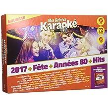 Coffret karaoké 6 DVD + 1 CD : 2017 vol 1 + 2017 vol 2 + Fête + 80 vol 1 + Hits vol 1 + Hits Vol 2