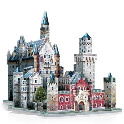 Wrebbit W3D2005 - Puzzle en 3D del castillo de Neuschwanstein (Alemania) por Wrebbit